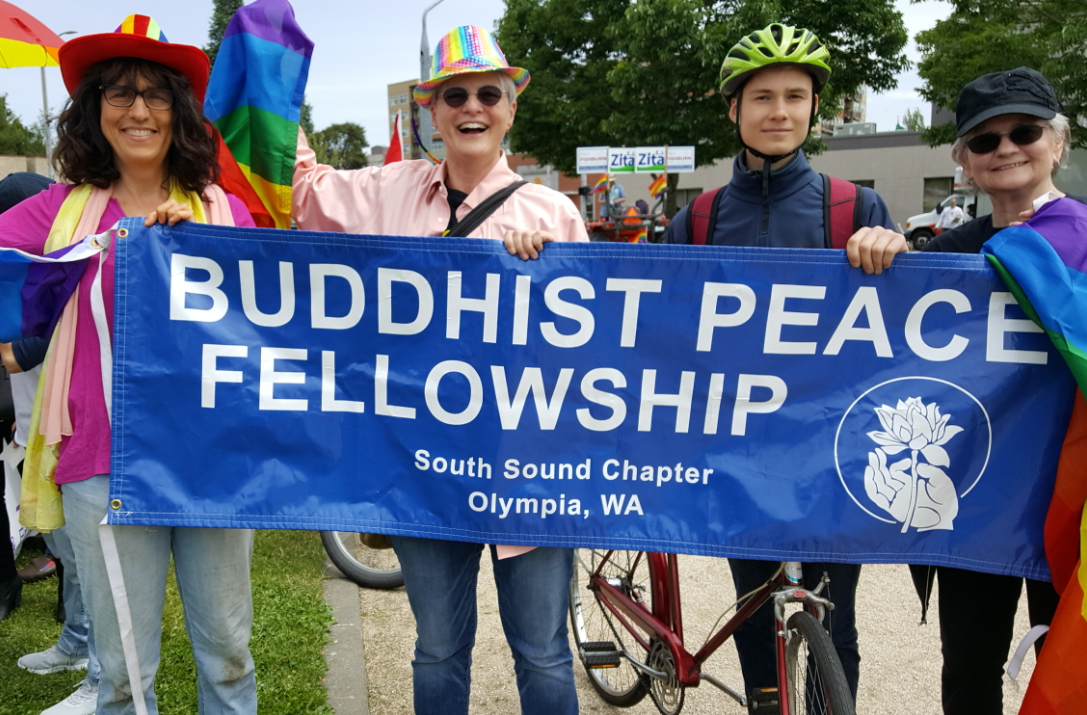 SSBPF in Capitol City Pride Parade Olympia Washington June 2017