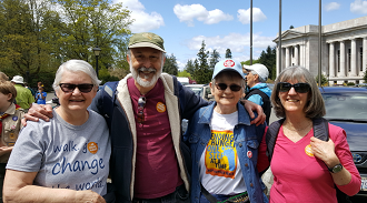 SSBPF at the Thurston County CROP Walk to end hunger May 2017 Olympia Washington